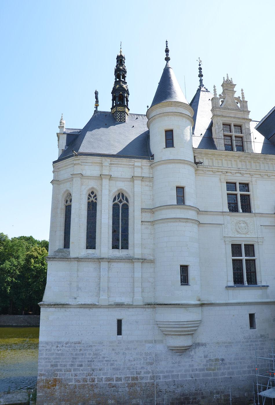 De la chapelle du ch teau de versailles prise du c t de - Plafond de la chapelle sixtine description ...
