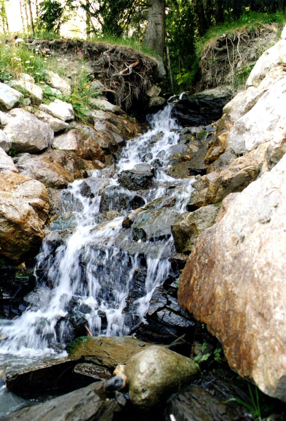 Photographie D U0026 39 Une Mini Cascade De Montagne