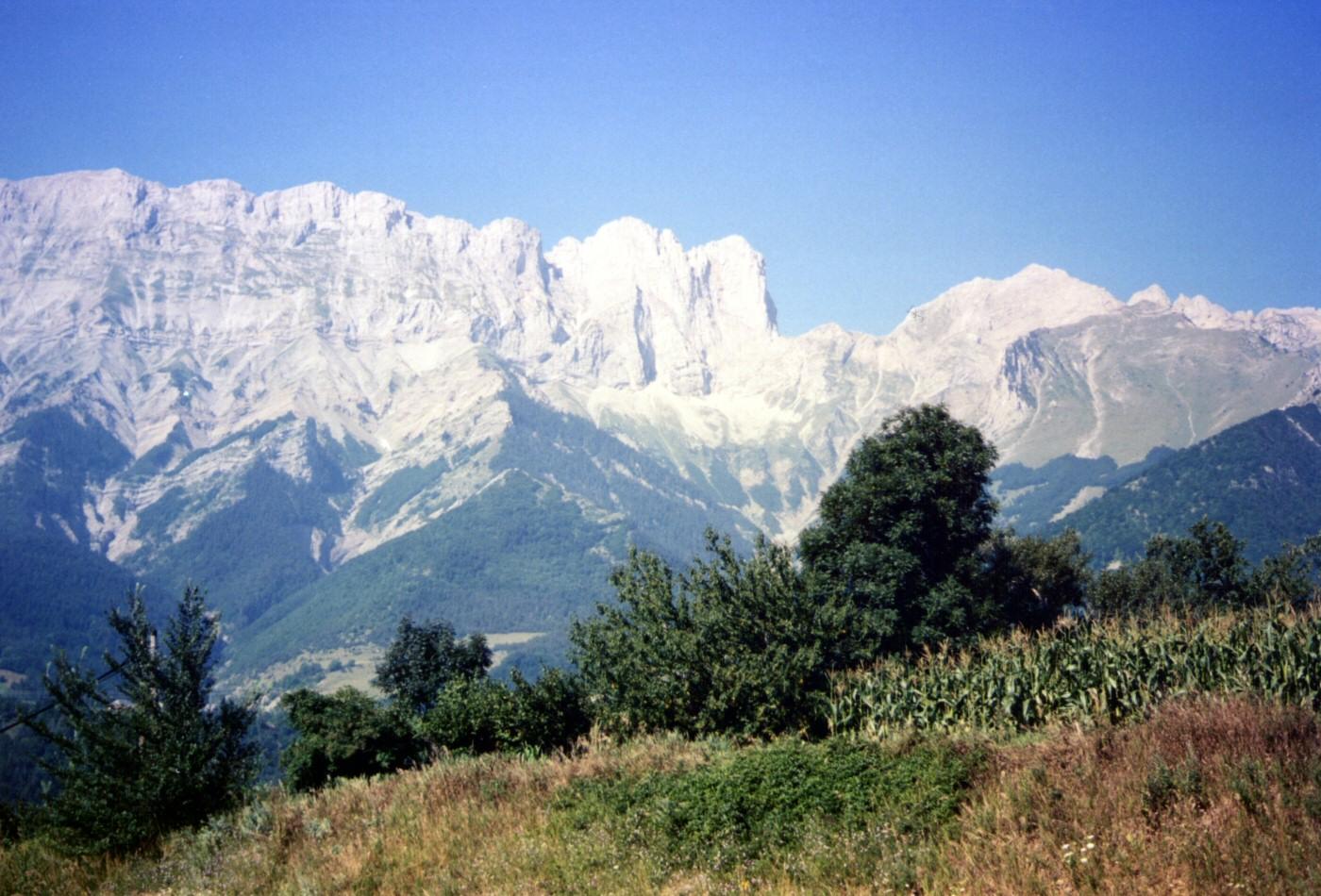 Paysage de montagne (alpes)